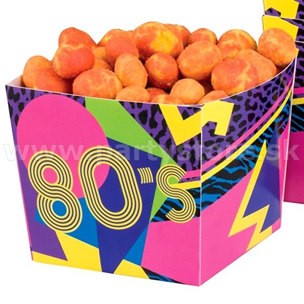 Snack Box - 80´s Reflex Party - 400 ml. bal. 6 ks, papier