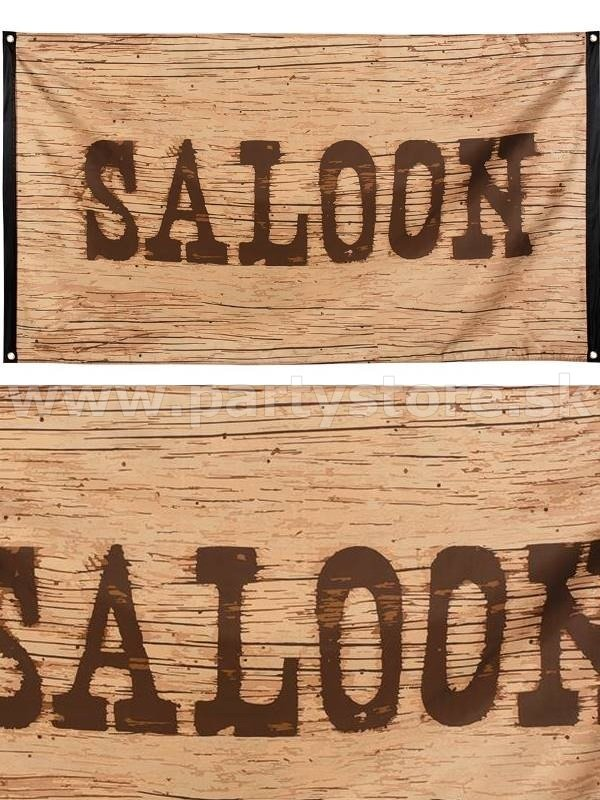 Banner - SALOON - 150 x 90 cm, 100% Polyester