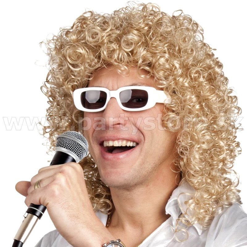 Parochňa - Rock frontman Robert Anthony - blond s okuliarmi