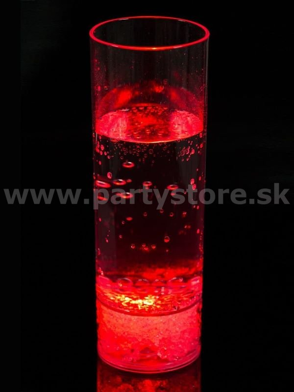 Pohár - LED BAR LONG DRINK - 250 ml, bal. 1ks, akryl