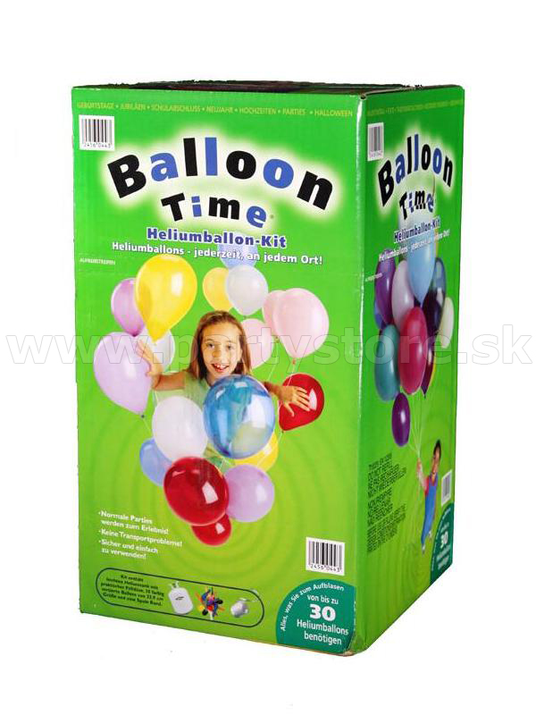 "Helium "" Balloon Time "" set 30"