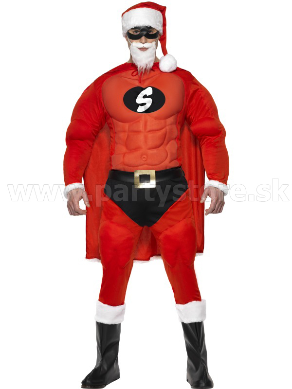"Kostým "" Super Fit Santa """
