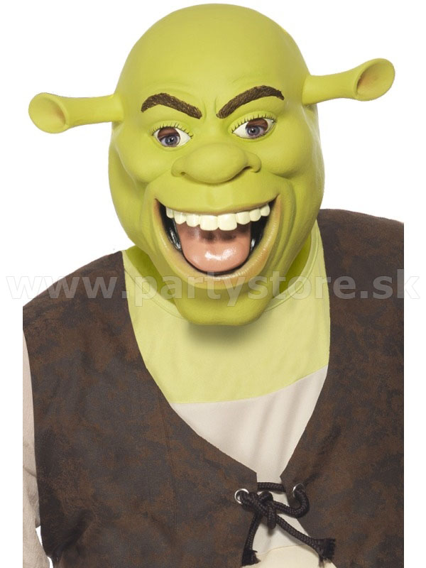 "Maska "" Shrek "" latexová"
